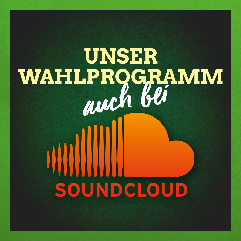 Wahlprogramm bei Soundcloud